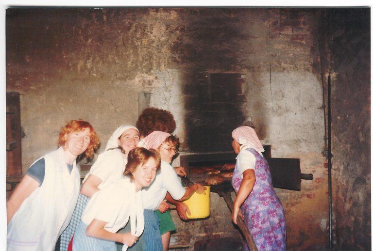 Zum Dorftheater 1984 wurde angeheizt